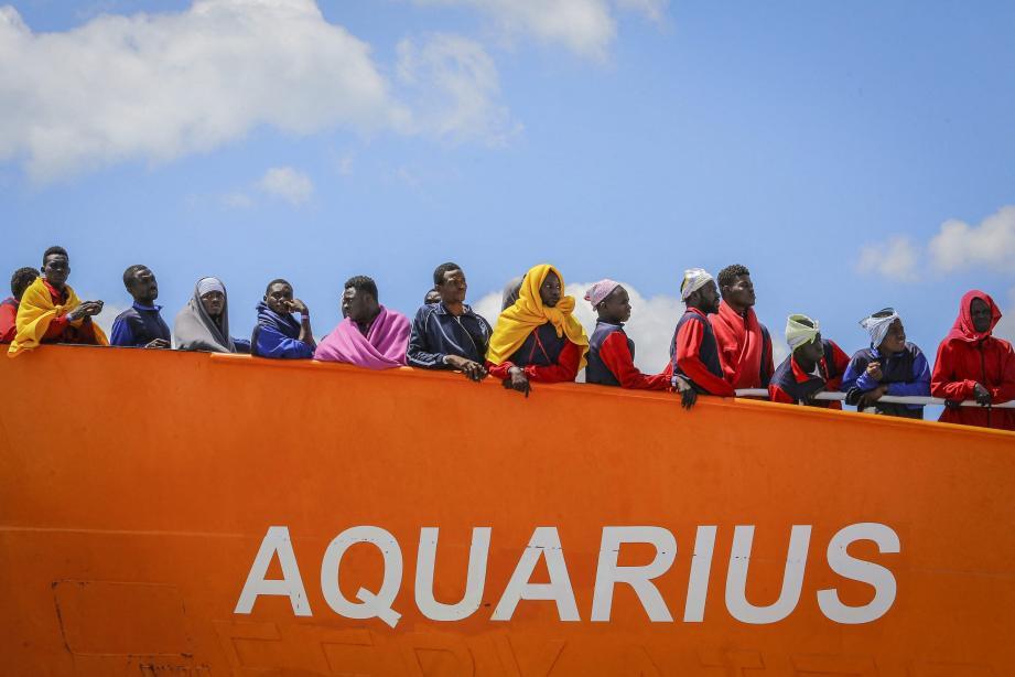 Soutien à l'Aquarius